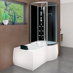 AcquaVapore DTP8050-A301L Wanne Duschtempel Badewanne Dusche Duschkabine 170x98 001
