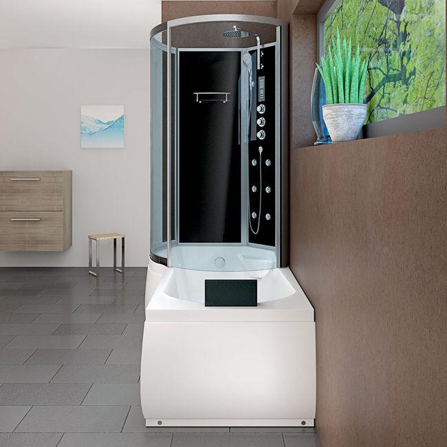 AcquaVapore DTP8050-A305R Wanne Duschtempel Badewanne Dusche Duschkabine 98x170 – Bild 13