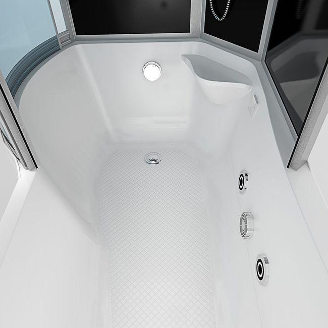 AcquaVapore DTP8050-A307R Whirlpool Wanne Duschtempel Dusche Duschkabine 98x170 – Bild 8