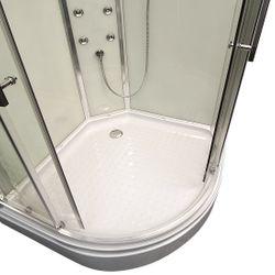 AcquaVapore QUICK16-0000 Dusche Duschtempel Komplette Duschkabine 80x80 Bild 8