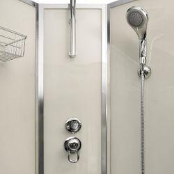 AcquaVapore QUICK16-0001 Dusche Duschtempel Komplette Duschkabine -Th 80x80 Bild 9