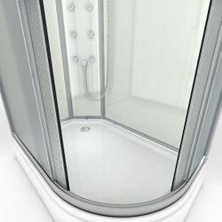 AcquaVapore QUICK16-7010R Dusche Duschtempel Komplette Duschkabine 80x120 Bild 6