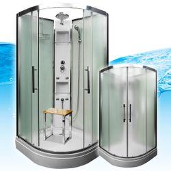 AcquaVapore QUICK16-0015 Dusche Duschtempel Komplette Duschkabine -Th 80x80