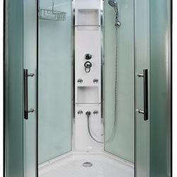 AcquaVapore QUICK16-0015 Dusche Duschtempel Komplette Duschkabine -Th 80x80 Bild 8