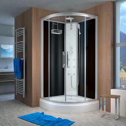 AcquaVapore QUICK16-2300 Dusche Duschtempel Komplette Duschkabine 100x100