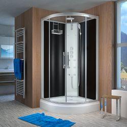 AcquaVapore QUICK16-2301 Dusche Duschtempel Komplette Duschkabine -Th 100x100 001