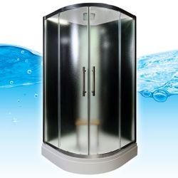 AcquaVapore QUICK16-0310 Dusche Duschtempel Komplette Duschkabine 80x80 Bild 2