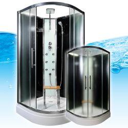 AcquaVapore QUICK16-0311 Dusche Duschtempel Komplette Duschkabine -Th 80x80 001