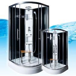 AcquaVapore QUICK16-0305 Dusche Duschtempel Komplette Duschkabine -Th 80x80