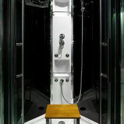 AcquaVapore QUICK16-0305 Dusche Duschtempel Komplette Duschkabine -Th 80x80 Bild 9