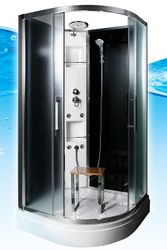 AcquaVapore QUICK16-0315 Dusche Duschtempel Komplette Duschkabine -Th 80x80 Bild 6