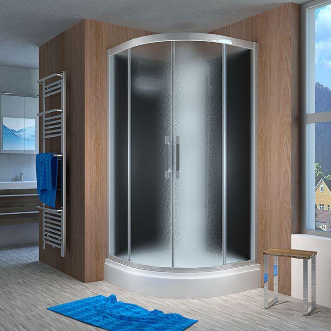 AcquaVapore QUICK16-2315 Dusche Duschtempel Komplette Duschkabine -Th 100x100