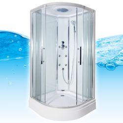 AcquaVapore QUICK18-0000 Dusche Duschtempel Komplette Duschkabine 80x80 Bild 3