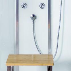 AcquaVapore QUICK18-0000 Dusche Duschtempel Komplette Duschkabine 80x80 Bild 10