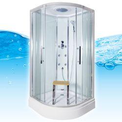 AcquaVapore QUICK18-0001 Dusche Duschtempel Komplette Duschkabine -Th 80x80 Bild 2