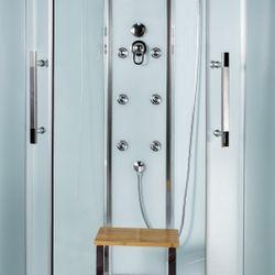 AcquaVapore QUICK18-0010 Dusche Duschtempel Komplette Duschkabine 80x80 Bild 10