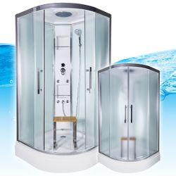 AcquaVapore QUICK18-0015 Dusche Duschtempel Komplette Duschkabine -Th 80x80 001