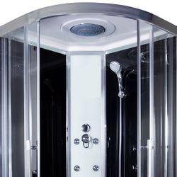 AcquaVapore QUICK18-0300 Dusche Duschtempel Komplette Duschkabine 80x80 Bild 7