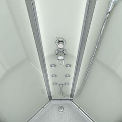 AcquaVapore QUICK18-2000 Dusche Duschtempel Komplette Duschkabine 100x100 Bild 6