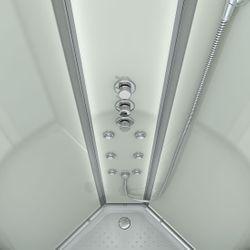 AcquaVapore QUICK18-2011 Dusche Duschtempel Komplette Duschkabine -Th 100x100 Bild 6