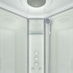 AcquaVapore QUICK18-2011 Dusche Duschtempel Komplette Duschkabine -Th 100x100 Bild 8
