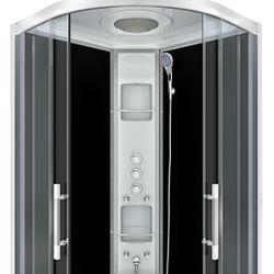 AcquaVapore QUICK18-2305 Dusche Duschtempel Komplette Duschkabine -Th 100x100 Bild 3