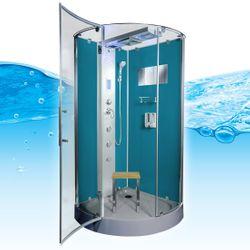 AcquaVapore DTP6037-8100 Dusche Duschtempel Komplett Duschkabine 80x80 Bild 4