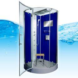 AcquaVapore DTP6037-8200 Dusche Duschtempel Komplett Duschkabine 80x80 Bild 2