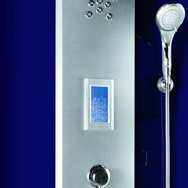 AcquaVapore DTP6037-4203 Dusche Dampfdusche Duschtempel Duschkabine -Th. 100x100 – Bild 13