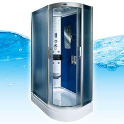 AcquaVapore DTP8060-7210R Dusche Duschtempel Komplett Duschkabine 80x120
