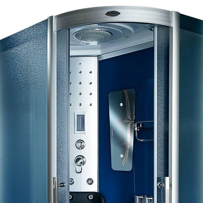 AcquaVapore DTP8060-7211R Dusche Duschtempel Komplett Duschkabine -Th. 80x120 – Bild 7