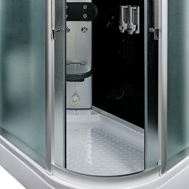 AcquaVapore DTP8060-7312R Dusche Dampfdusche Duschtempel Duschkabine 80x120 – Bild 12