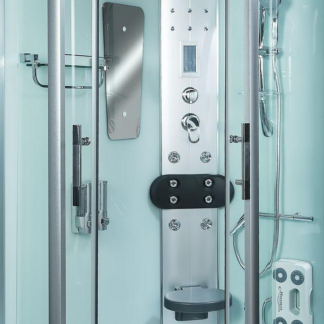 AcquaVapore DTP8060 WS Dampfdusche Dusche Duschkabine 120x80L / 80x120R – Bild 14