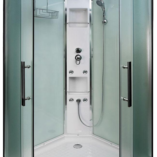 AcquaVapore QUICK16 WS Duschtempel Dusche Fertigdusche 80x80 90x90 100x100 – Bild 11