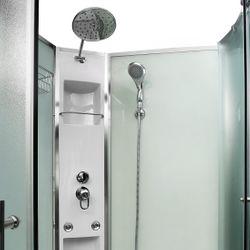 AcquaVapore QUICK16 WS Duschtempel Dusche Fertigdusche 80x80 90x90 100x100 Bild 10