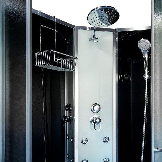 AcquaVapore QUICK16 SW Duschtempel Dusche Fertigdusche 80x120 120x80 – Bild 13