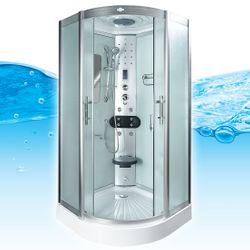 AcquaVapore DTP8046-0013 Dusche Dampfdusche Duschtempel Duschkabine -Th. 80x80 001