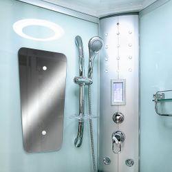 AcquaVapore DTP8046-6000 Dusche Duschtempel Komplett Duschkabine 100x100 XL Bild 9