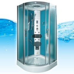 AcquaVapore DTP8046-0111 Dusche Duschtempel Komplett Duschkabine -Th. 80x80 Bild 3