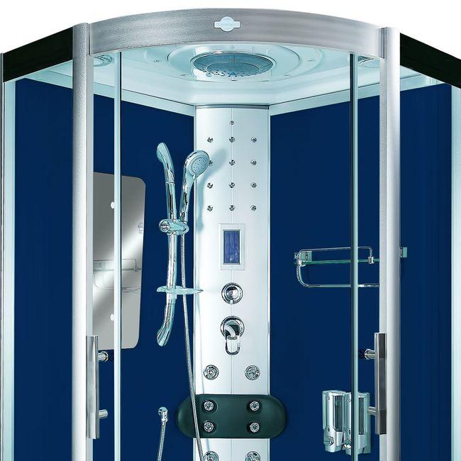 AcquaVapore DTP8046-2200 Dusche Duschtempel Komplett Duschkabine 100x100 – Bild 8