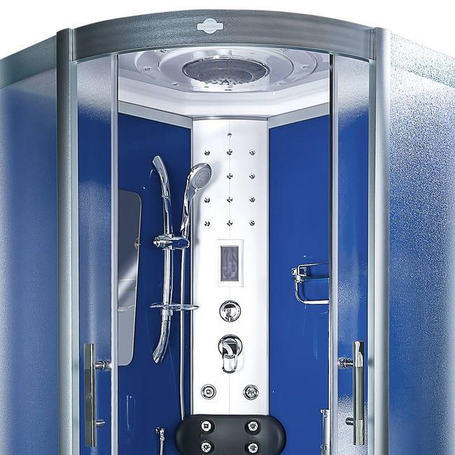 AcquaVapore DTP8046-5211 Dusche Duschtempel Komplett Duschkabine -Th 90x90XL – Bild 8