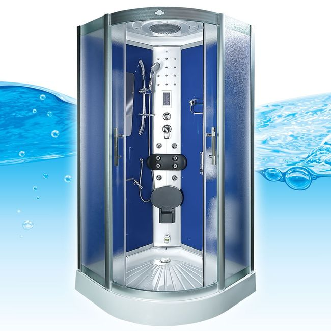AcquaVapore DTP8046-5212 Dusche Dampfdusche Duschtempel Duschkabine 90x90 XL – Bild 3