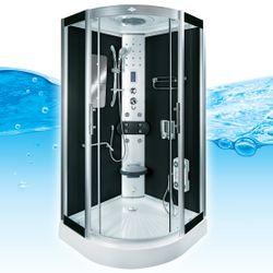 AcquaVapore DTP8046-0300 Dusche Duschtempel Komplett Duschkabine 80x80