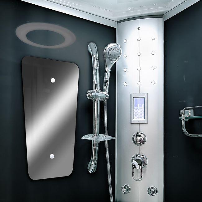 AcquaVapore DTP8046-2302 Dusche Dampfdusche Duschtempel Duschkabine 100x100 – Bild 9