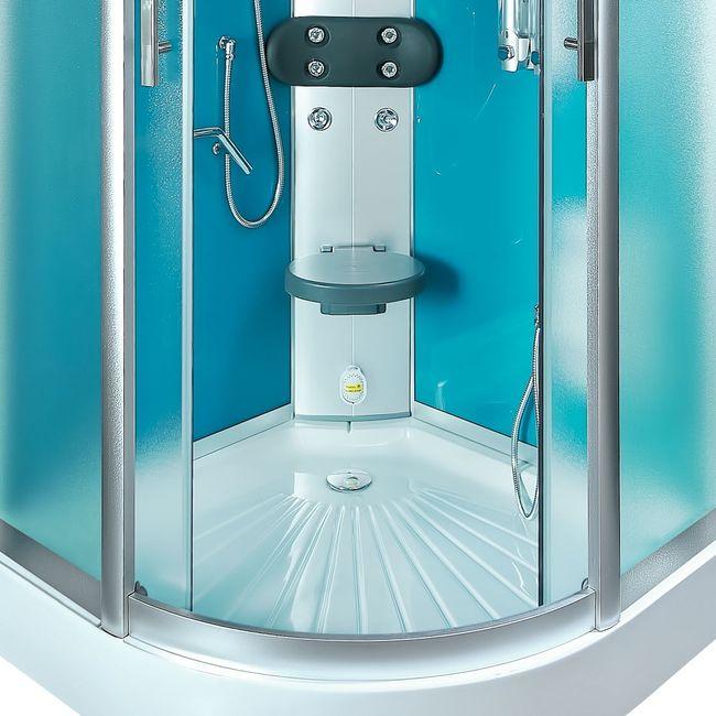 AcquaVapore DTP8058-0112 Dusche Dampfdusche Duschtempel Duschkabine 80x80 – Bild 12