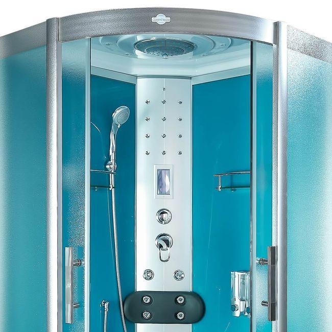 AcquaVapore DTP8058-0112 Dusche Dampfdusche Duschtempel Duschkabine 80x80 – Bild 8