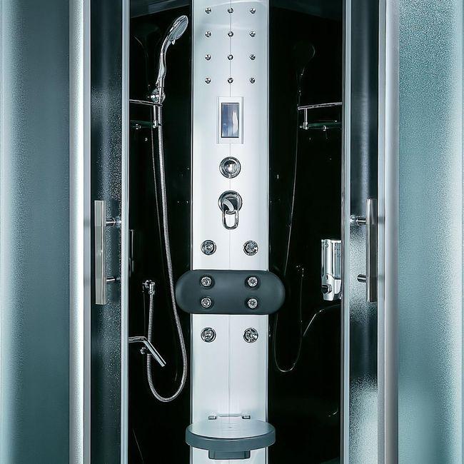 AcquaVapore DTP8058-0313 Dusche Dampfdusche Duschtempel Duschkabine -Th. 80x80 – Bild 10