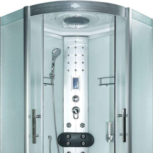 AcquaVapore DTP8058-1011 Dusche Duschtempel Komplett Duschkabine -Th. 90x90 – Bild 8