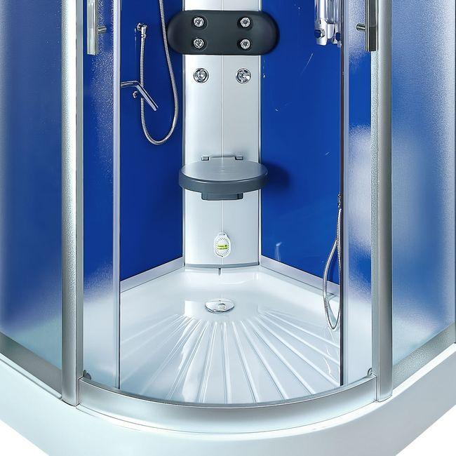 AcquaVapore DTP8058-2210 Dusche Duschtempel Komplett Duschkabine 100x100 – Bild 12