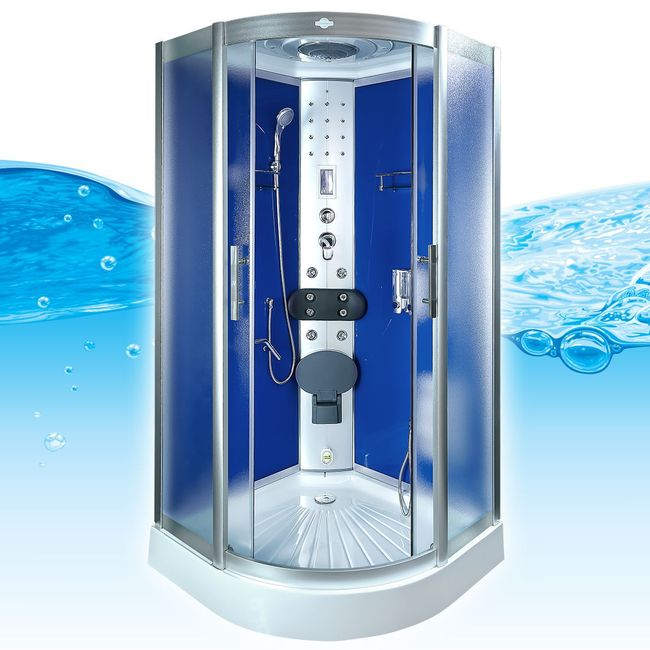 AcquaVapore DTP8058-2212 Dusche Dampfdusche Duschtempel Duschkabine 100x100 – Bild 3